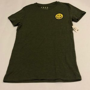 Army Green Graphic Aeropostale T-Shirt